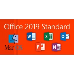 MICROSOFT  OFFICE MAC STANDARD 2019